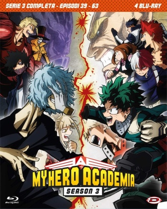My Hero Academia - Stagione 3 completa (4 Blu-rays)