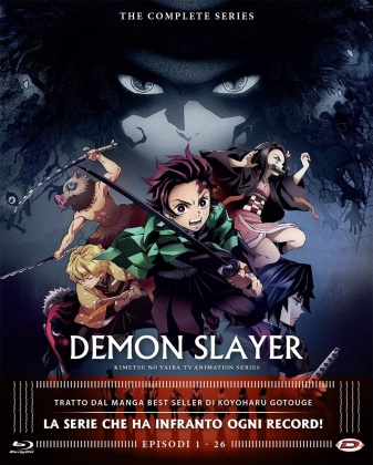 Demon Slayer - The Complete Series (Eps. 01-26) (4 Blu-rays)