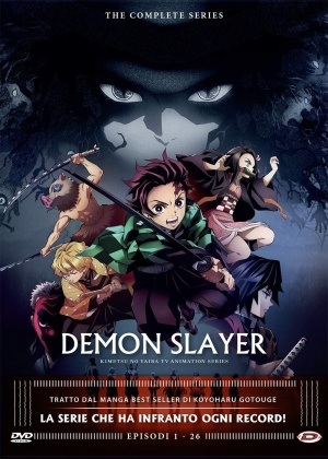 Demon Slayer - The Complete Series (Eps. 01-26) (4 DVDs)