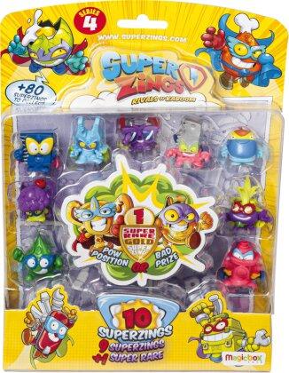 SuperZings 4 - Blister 10 Figurine