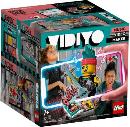 Punk Pirate BeatBox - LEGO Vidiyo, 73 Teile,