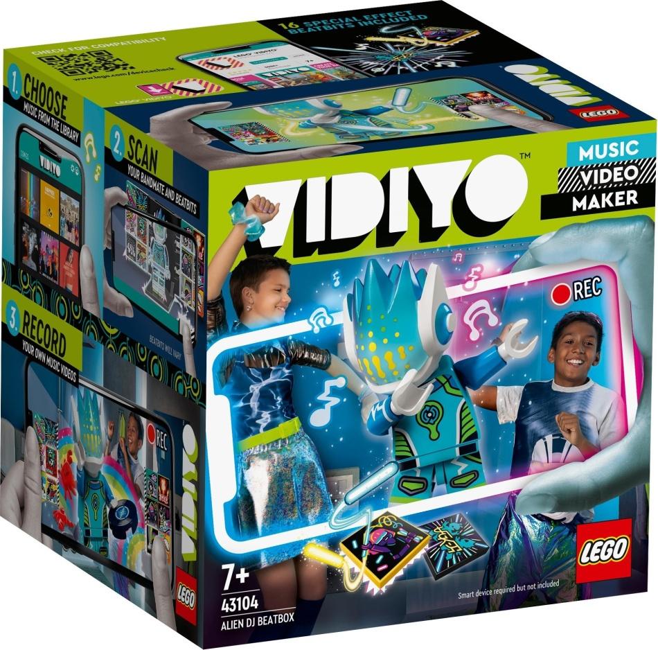 Alien DJ BeatBox - LEGO Vidiyo, 73 Teile,
