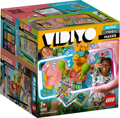 Party Llama BeatBox - LEGO Vidiyo, 82 Teile,