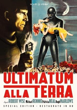 Ultimatum alla Terra (1951) (Sci-Fi d'Essai, Restaurato in HD, n/b, Edizione Speciale)