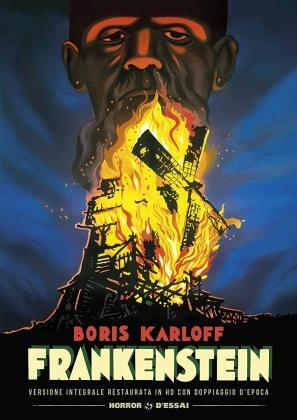 Frankenstein (1931) (Horror d'Essai, Versione Restaurata Integrale, s/w)