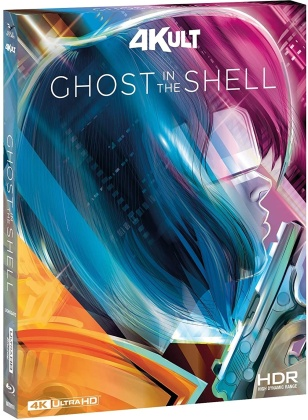 Ghost in the Shell (1995) (4Kult, 4K Ultra HD + 2 Blu-rays)