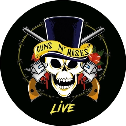 "Guns N' Roses - Live (Picture Disc, 12"" Maxi)"