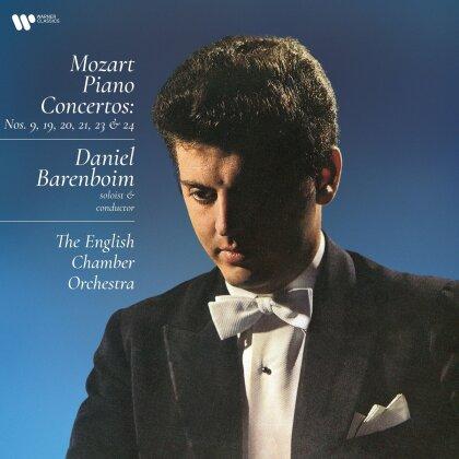 Wolfgang Amadeus Mozart (1756-1791) & Daniel Barenboim - Piano Concertos (4 LPs)