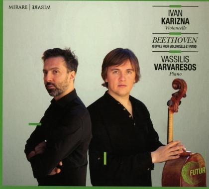 Ludwig van Beethoven (1770-1827), Ivan Karizna & Vassilis Varvaresos - Oeuvres Pour Violoncello