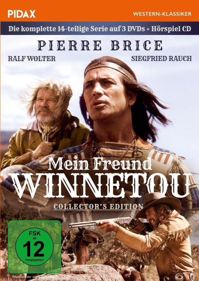 Mein Freund Winnetou - Die komplette 14-teilige Serie (Pidax Western-Klassiker, Collector's Edition, 3 DVD + Audiolibro)