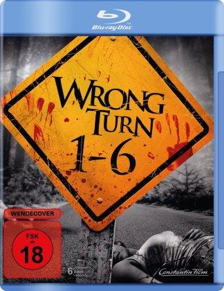Wrong Turn 1-6 (6 Blu-ray)