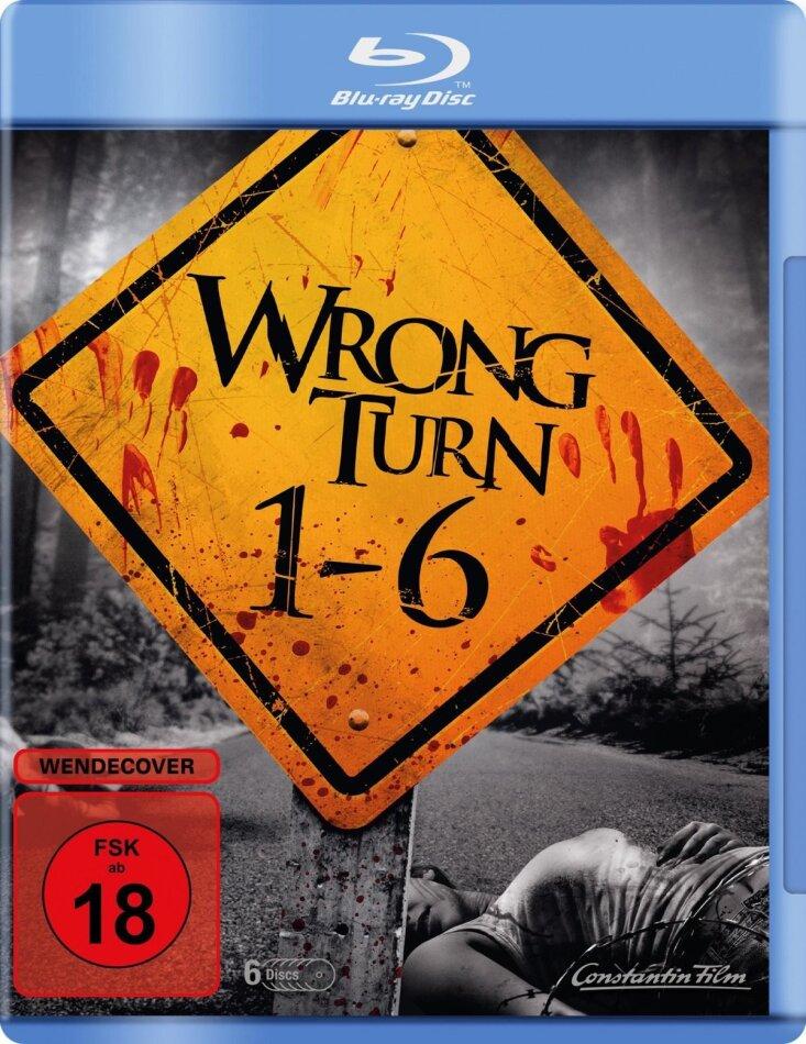Wrong Turn 1-6 (6 Blu-rays)