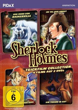 Sherlock Holmes Trickfilm Collection (Pidax Animation, 2 DVDs)
