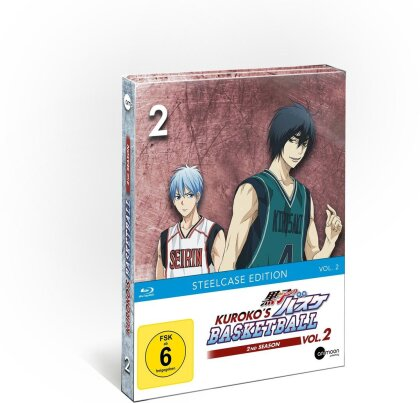 Kuroko's Basketball - Staffel 2 - Vol. 2 (Limited Steelcase Edition)