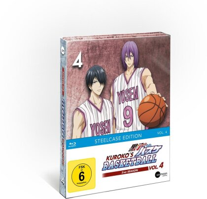 Kuroko's Basketball - Staffel 2 - Vol. 4 (Limited Steelcase Edition)