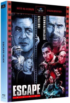 Escape Plan (2013) (Cover Astro, Kult-Klassiker Ungeschnitten, Limited Edition, Mediabook, 2 Blu-rays)