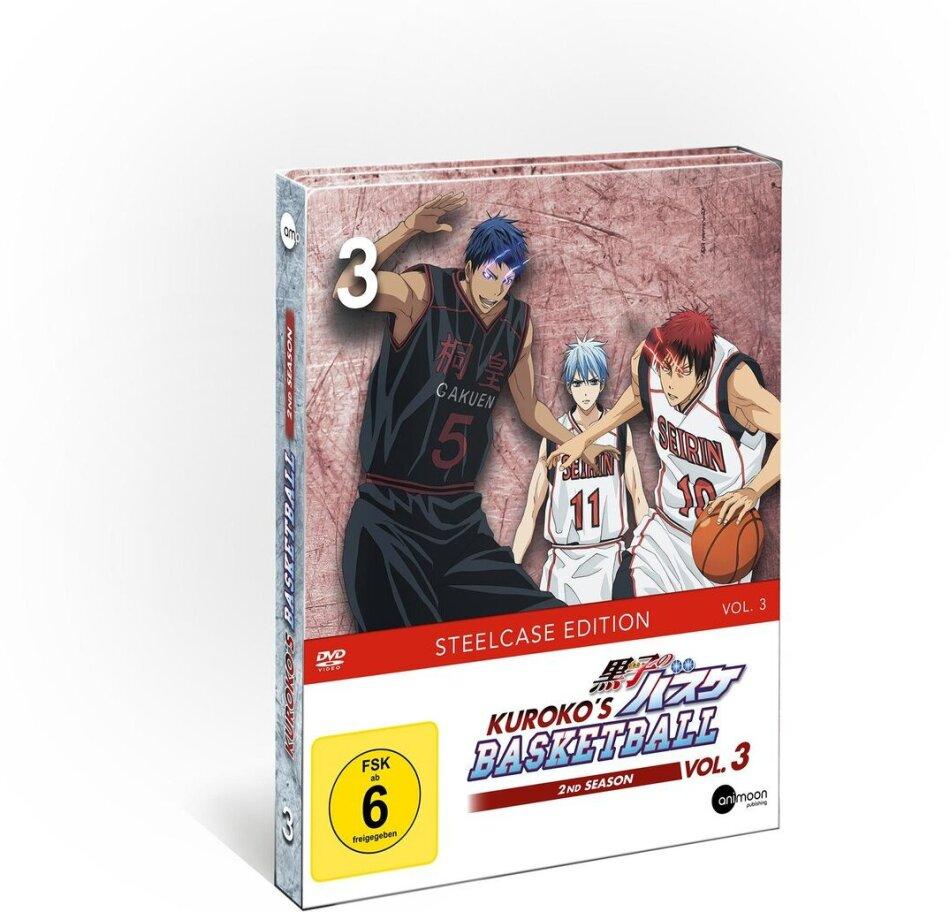 Kuroko's Basketball - Staffel 2 - Vol. 3 (Limited Steelcase Edition)