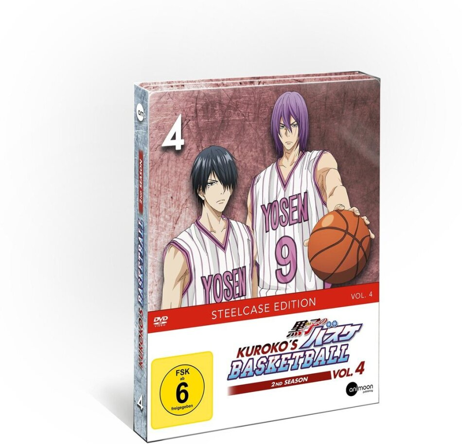 Kuroko's Basketball - Staffel 2 - Vol. 4 (Limited Steelcase Edition)