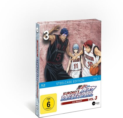 Kuroko's Basketball - Staffel 2 - Vol. 3 (Limited Steelcase Edition)