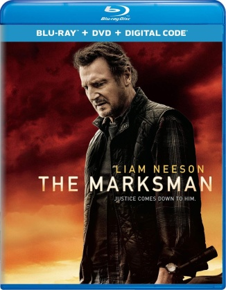 The Marksman (2021) (Blu-ray + DVD)