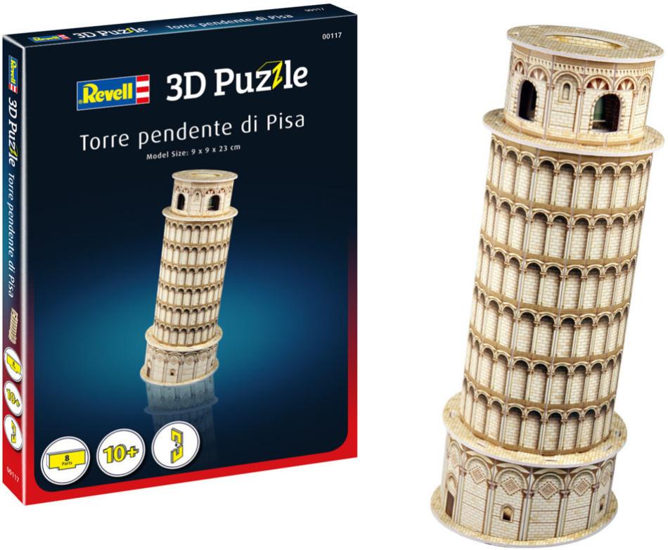 Schiefer Turm von Pisa - 3D Puzzle