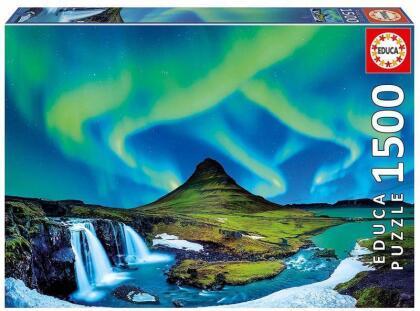Polarlichter - 1500 Teile Puzzle