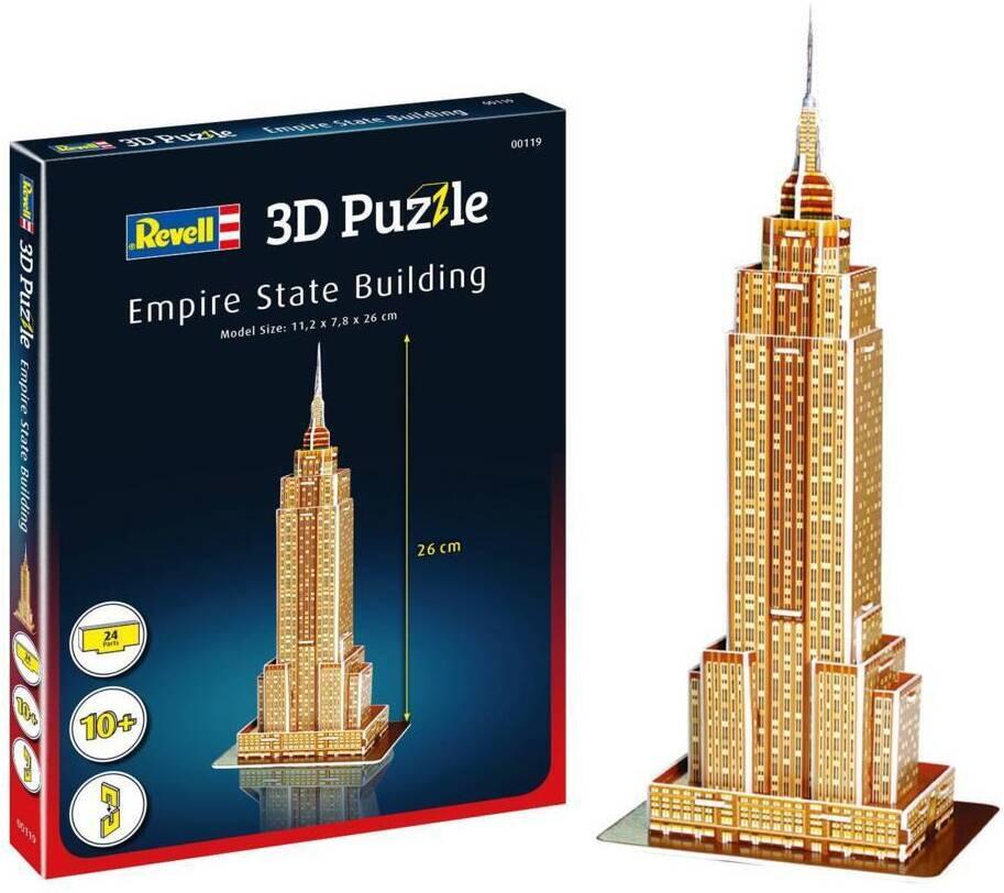 Empire State Building - 24 Teile 3D Puzzle