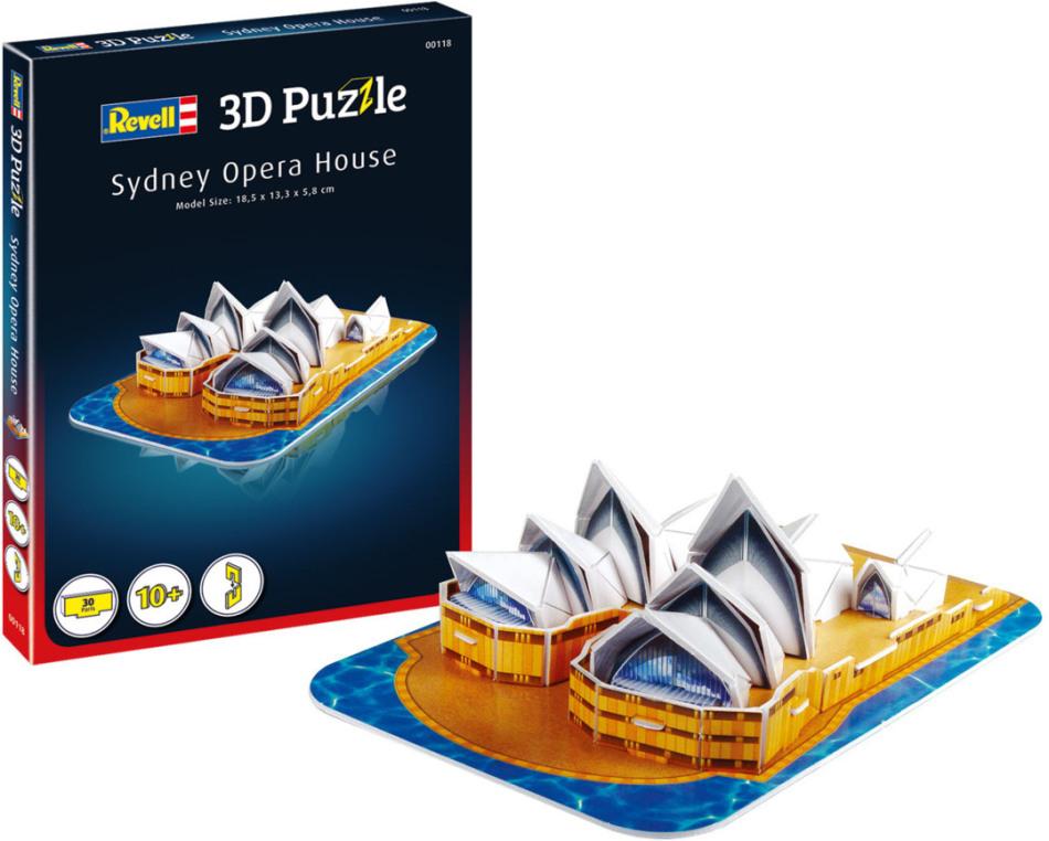 Oper Sydney - 3D Puzzle