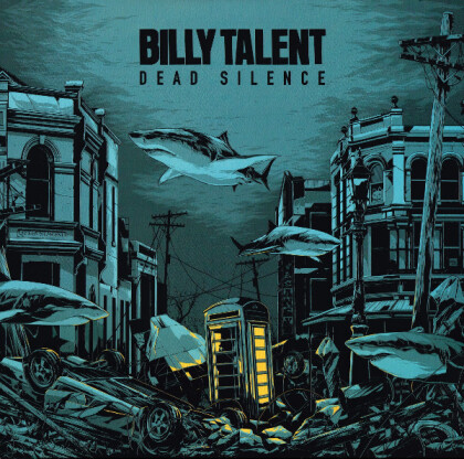 Billy Talent - Dead Silence (2021 Reissue, Music On Vinyl, Limited Edition, 2 LPs)