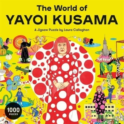 The World of Yayoi Kusama - 1000 Teile Puzzle