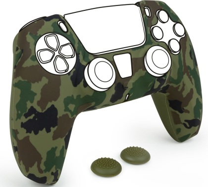 Controller Silicon Glove [camo green/inkl. 2 Thumb Grips] [PS5]
