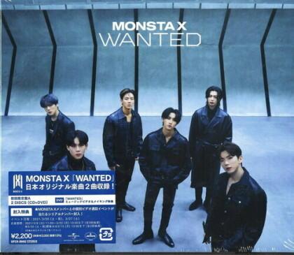 Monsta X (K-Pop) - Wanted (Version A, Japan Edition)