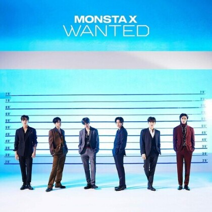 Monsta X (K-Pop) - Wanted (Version B, Japan Edition)