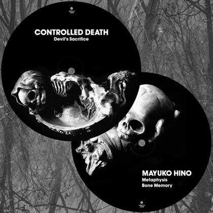 """Controlled Death & Mayuko Hino - Split (Picture Disk) (12"""" Maxi)"""