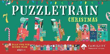 Christmas Train - 26-Piece Puzzle