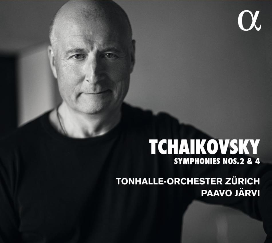 Peter Iljitsch Tschaikowsky (1840-1893), Paavo Järvi & Tonhalle-Orchester Zürich - Symphonies Nos. 2 & 4
