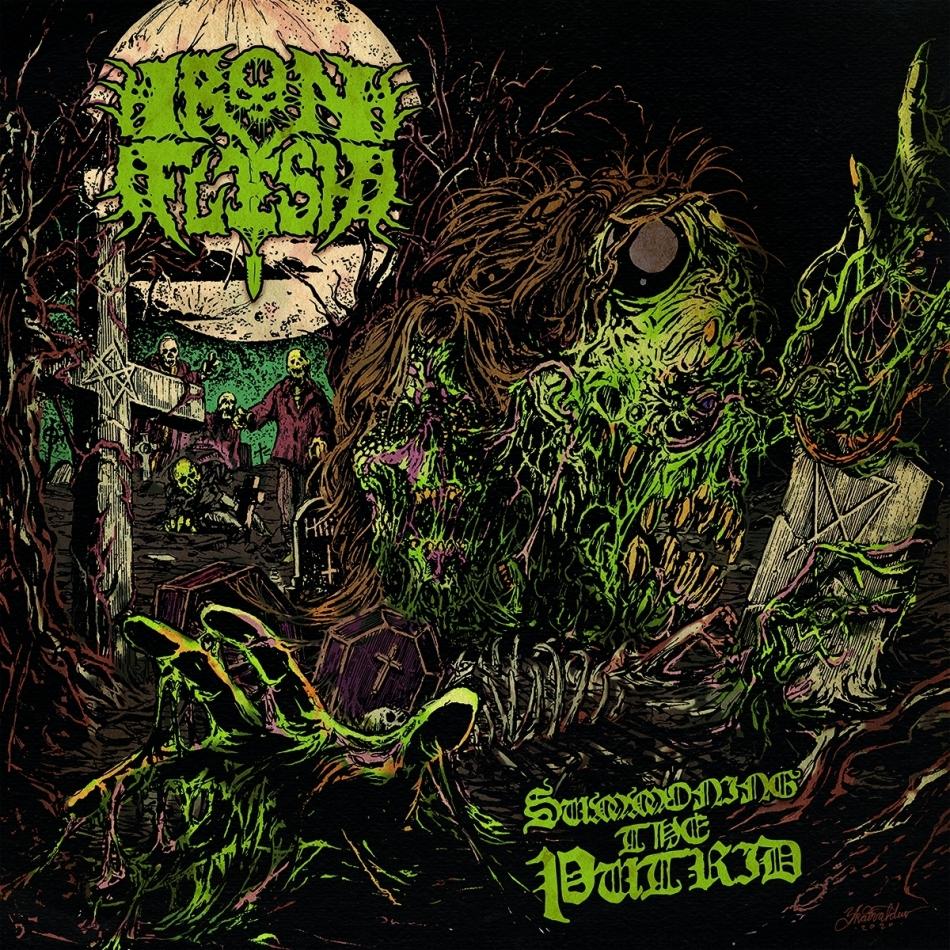 Iron Flesh - Summoning the Putrid (LP)