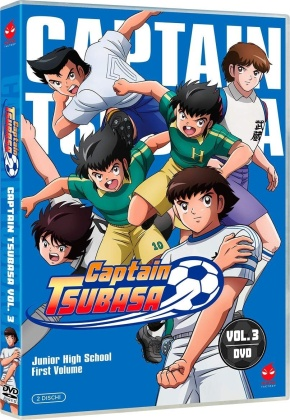 Captain Tsubasa - Junior High School First Volume - Vol. 3 (2 DVDs)