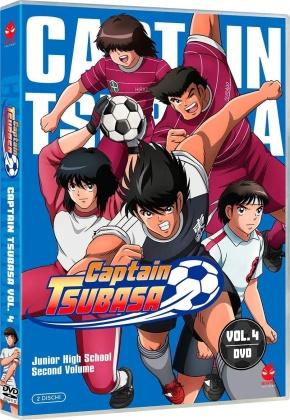 Captain Tsubasa - Junior High School Second Volume - Vol. 4 (2 DVDs)