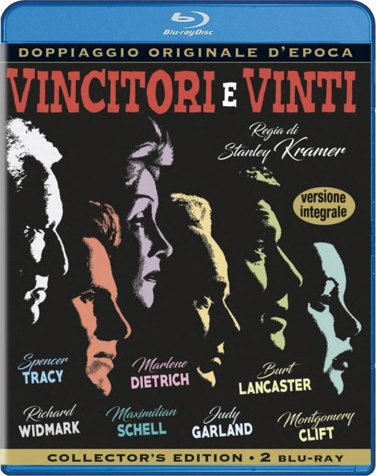 Vincitori e vinti (1961) (Doppiaggio Originale D'epoca, n/b, Collector's Edition, 2 Blu-ray)