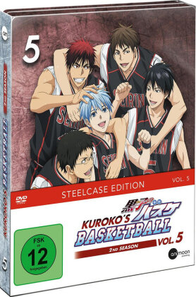 Kuroko's Basketball - Staffel 2 - Vol. 5 (Limited Steelcase Edition)