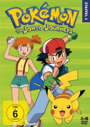 Pokémon - Staffel 3: Die Johto Reisen (5 DVDs)