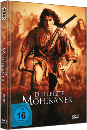 Der letzte Mohikaner (1992) (Director's Cut, Kinoversion, Limited Edition, Mediabook, 2 Blu-rays)