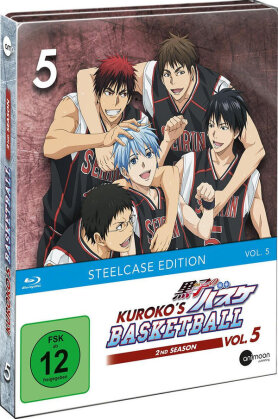 Kuroko's Basketball - Staffel 2 - Vol. 5 (Limited Steelcase Edition)