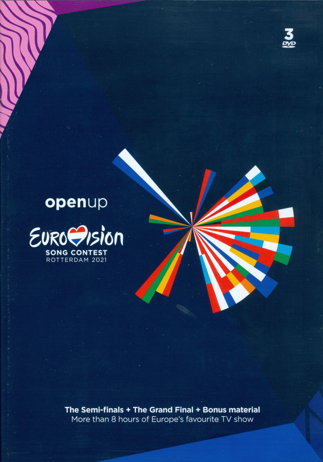 Various Artists - Eurovision Song Contest - Rotterdam 2021 (3 DVDs)