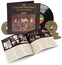 Crosby Stills Nash & Young - Deja Vu (2021 Reissue, 50th Anniversary Edition, Deluxe Edition, LP + 4 CDs)