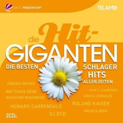 Die Hit Giganten: Die besten Schlager aller Zeiten (2 CDs)
