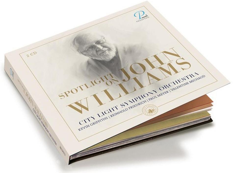 City Light Symphony Orchestra - Spotlight on John Williams (2 CDs)