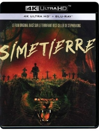 Simetierre (1989) (30th Anniversary Edition, 4K Ultra HD + Blu-ray)