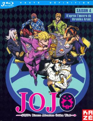 JoJo's Bizarre Adventure - Saison 4 - Partie 1 : Golden Wind (3 Blu-rays)